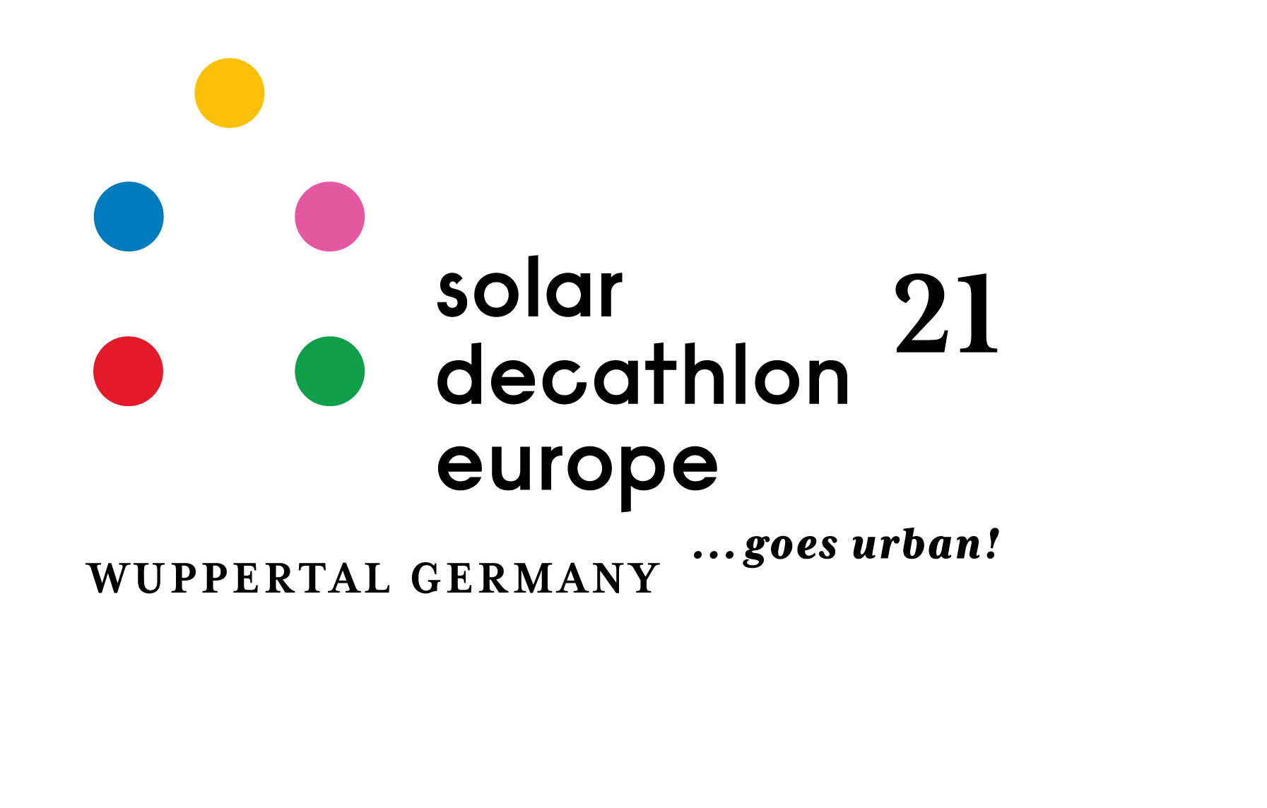 SDE21 - Solar Decathlon Europe 21    goes urban!