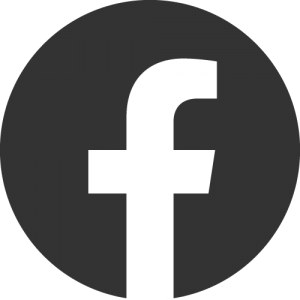 A circle with an f for Facebook on the inside.