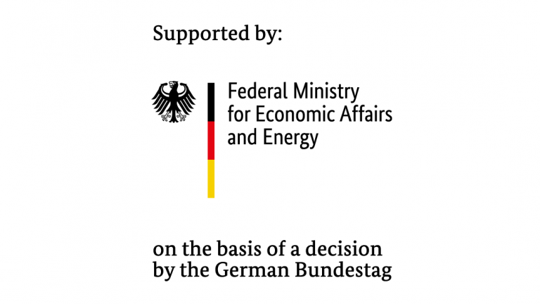 Logo of Federal Ministry for Economic Affairs and Energy (BMWI).