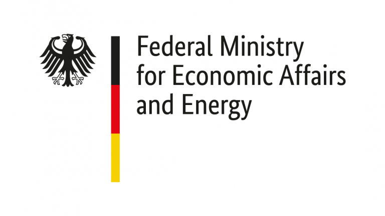 The logo of Federal Ministry for Economic Affairs and Energy