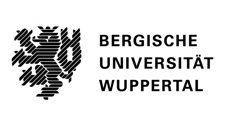 Logo of the University of Wuppertal.
