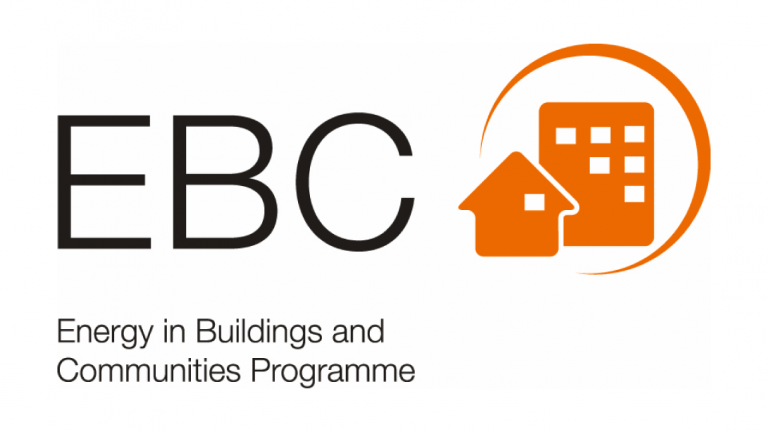 Logo of Energy in Buildings and Communities Programme (EBC).
