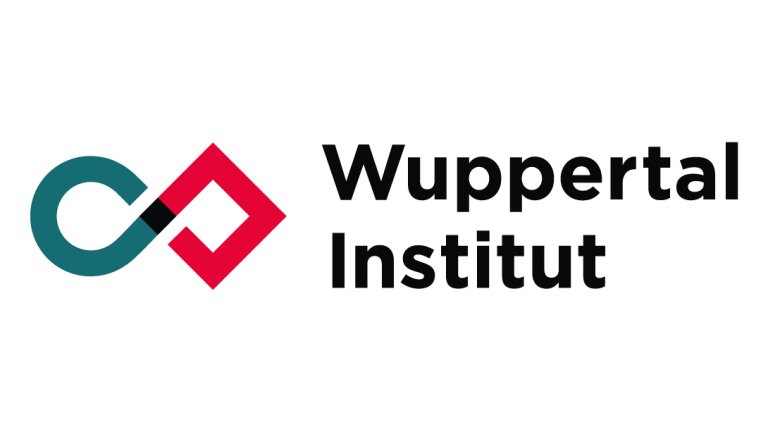 Logo of Wuppertal Institut.