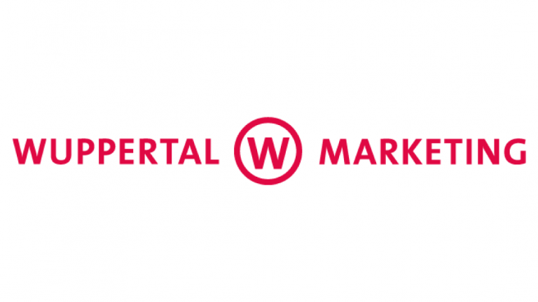 Logo of Wuppertal Marketing.