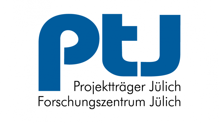 Logo of Project Management Jülich (PTJ).