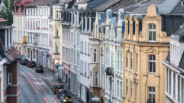The old town of Wuppertal
