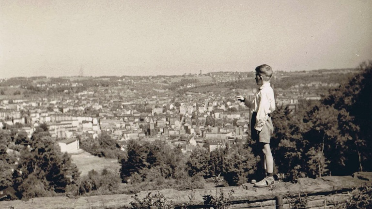 A valley view about Wuppertal