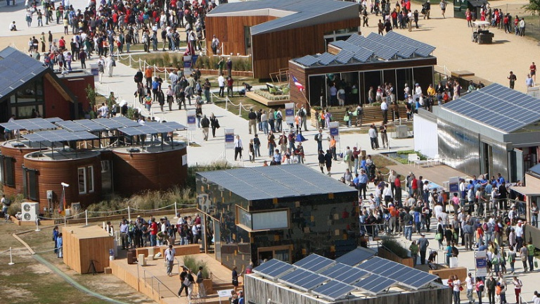 A Solar Decathlon campus