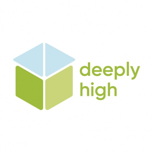 The logo of Deeply High