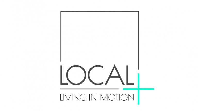 The logo of local+