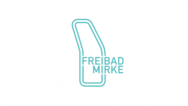"""The logo of the """"Freibad Mirke"""""""