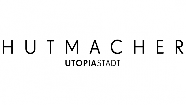 """The logo of """"Hutmacher"""""""